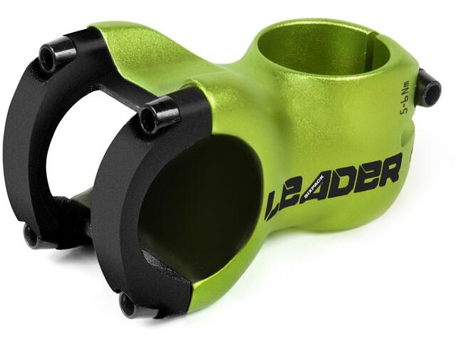Sixpack Leader Potence à angle ajustable Ø31,8mm, electric-green